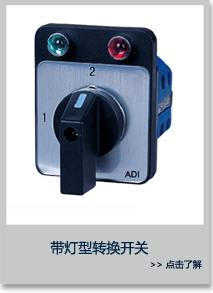 带灯型转换开关 ADI20-TPN-D