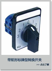 带矩形标牌型转换开关 ADI32-D